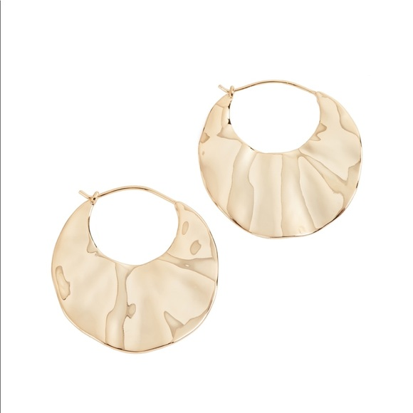 Gorjana Jewelry - Gorjana Chloe Crescent Hoop Earrings